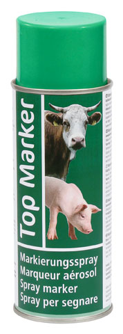 TOP MARKER Spray 400ml. Verde