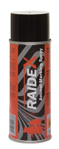 RAIDEX Spray Marcador 400ML Rojo