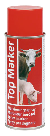 TOP MARKER Spray 400ml. Rojo