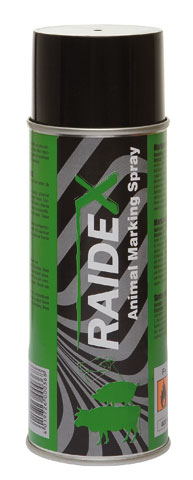RAIDEX Spray Marcador 400ML Verde