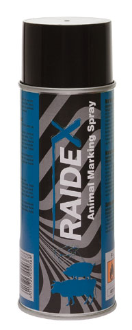 RAIDEX Spray Marcador 400ML Azul