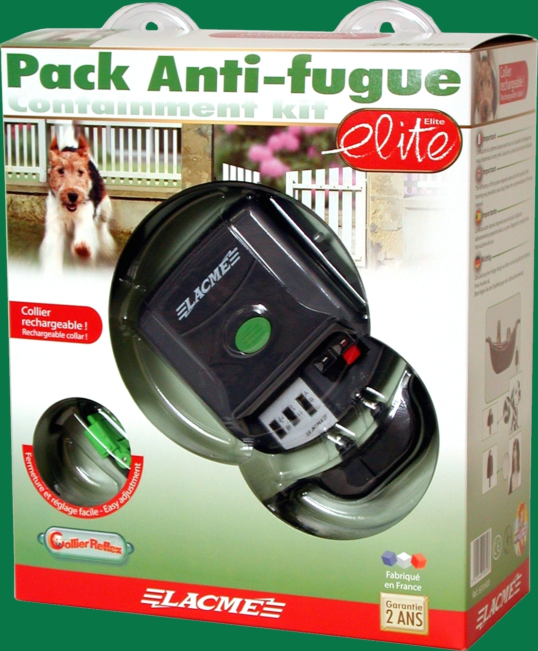 Kit Anti-Fuga ELITE Collar Reflex