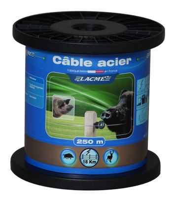 Cable De Acero Lacme 250mt