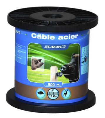 Cable De Acero Lacme 500mt