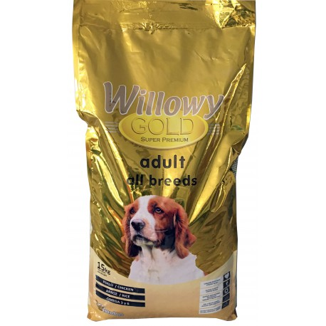 Pienso WILLOWY Gold Adult All Breeds 15Kg