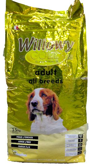 Pienso WILLOWY Gold Adult All Breeds 3Kg
