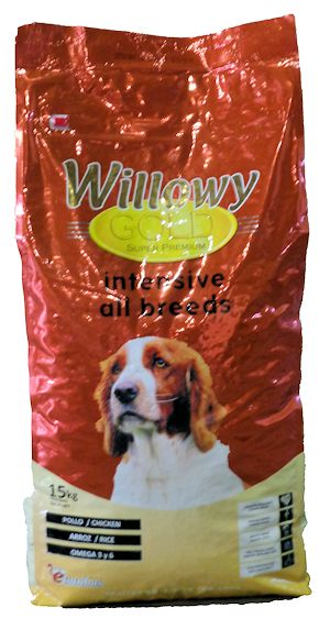 Pienso WILLOWY Gold Intensive All Breeds 15Kg