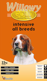 Pienso WILLOWY Gold Intensive All Breeds 3Kg