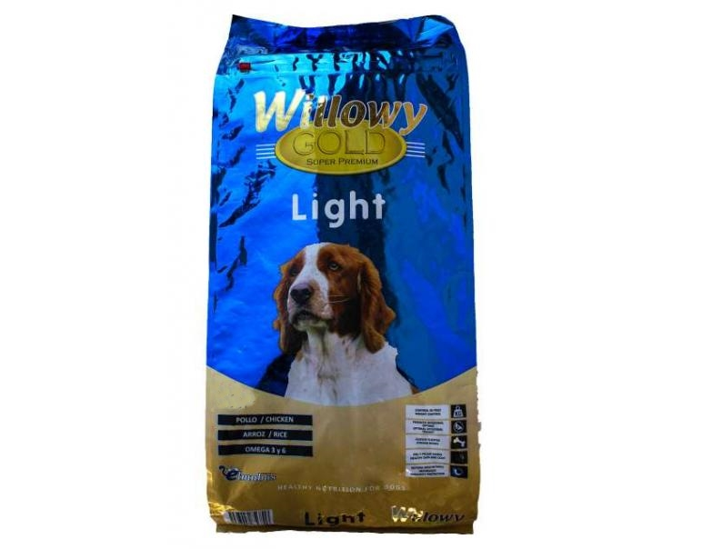Pienso WILLOWY Gold Light 3kg